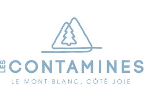 les contamines logo site
