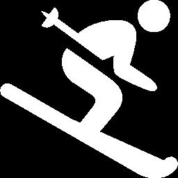skier blanc