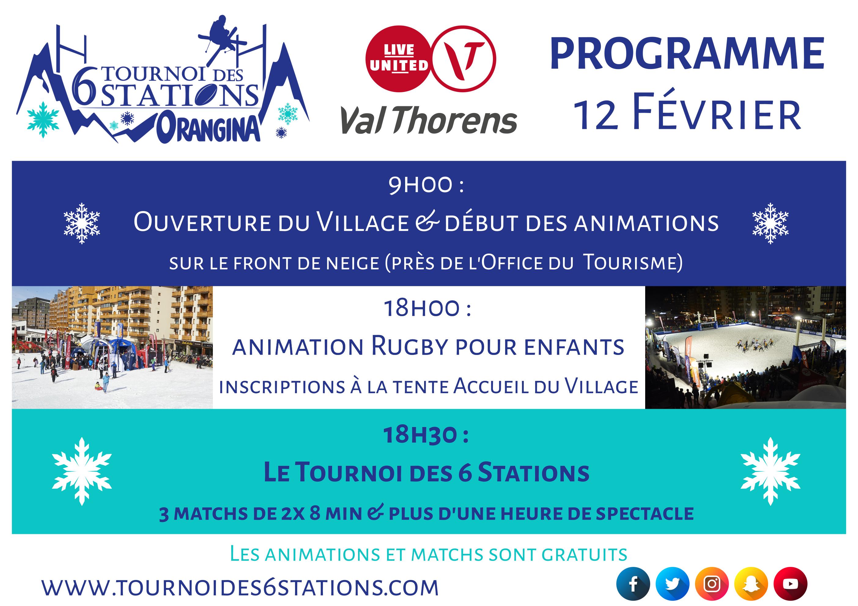 12 programme Val Thorens