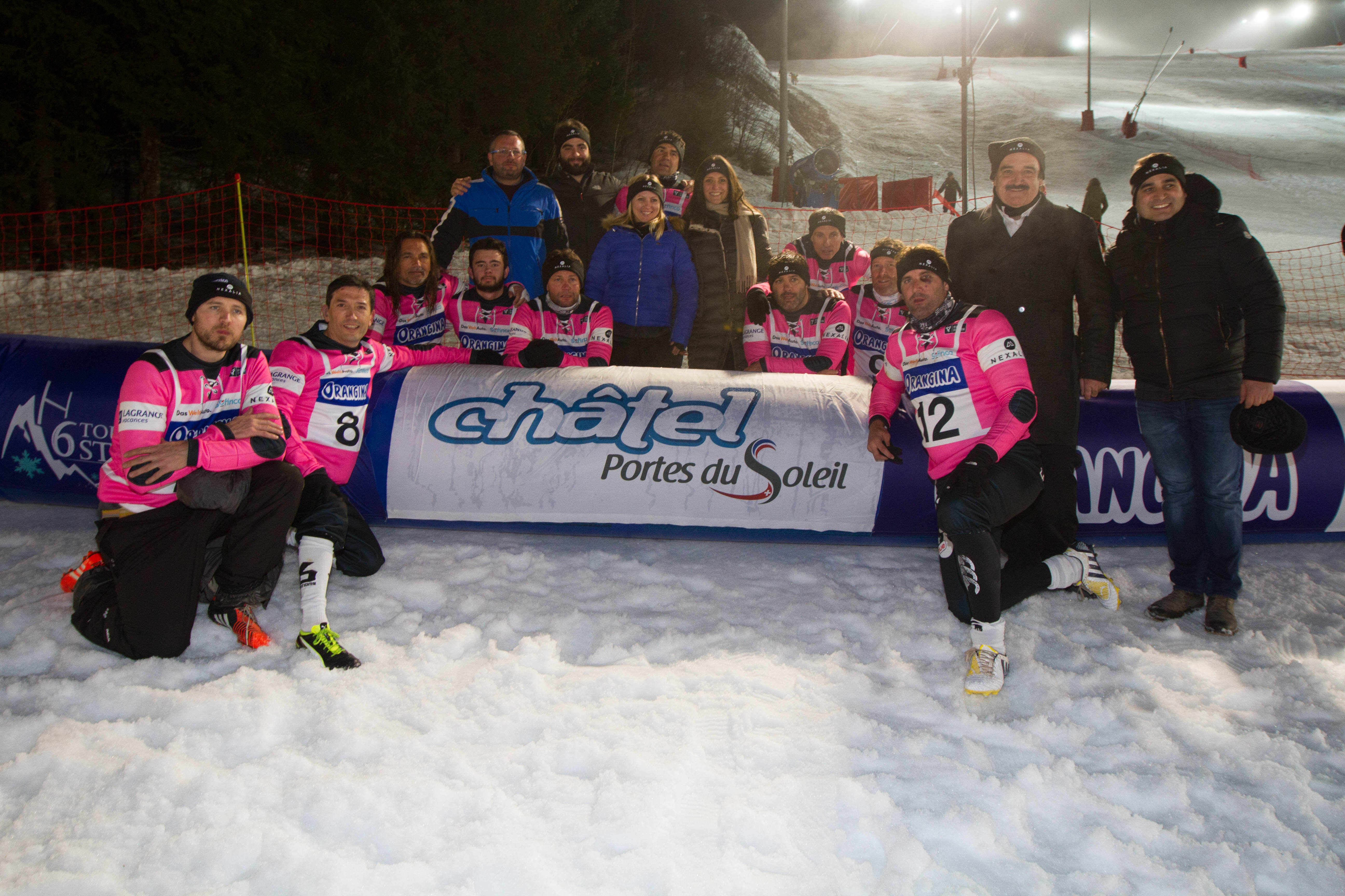 Equipe Châtel Tournoi 6 Stations Hiver 2018
