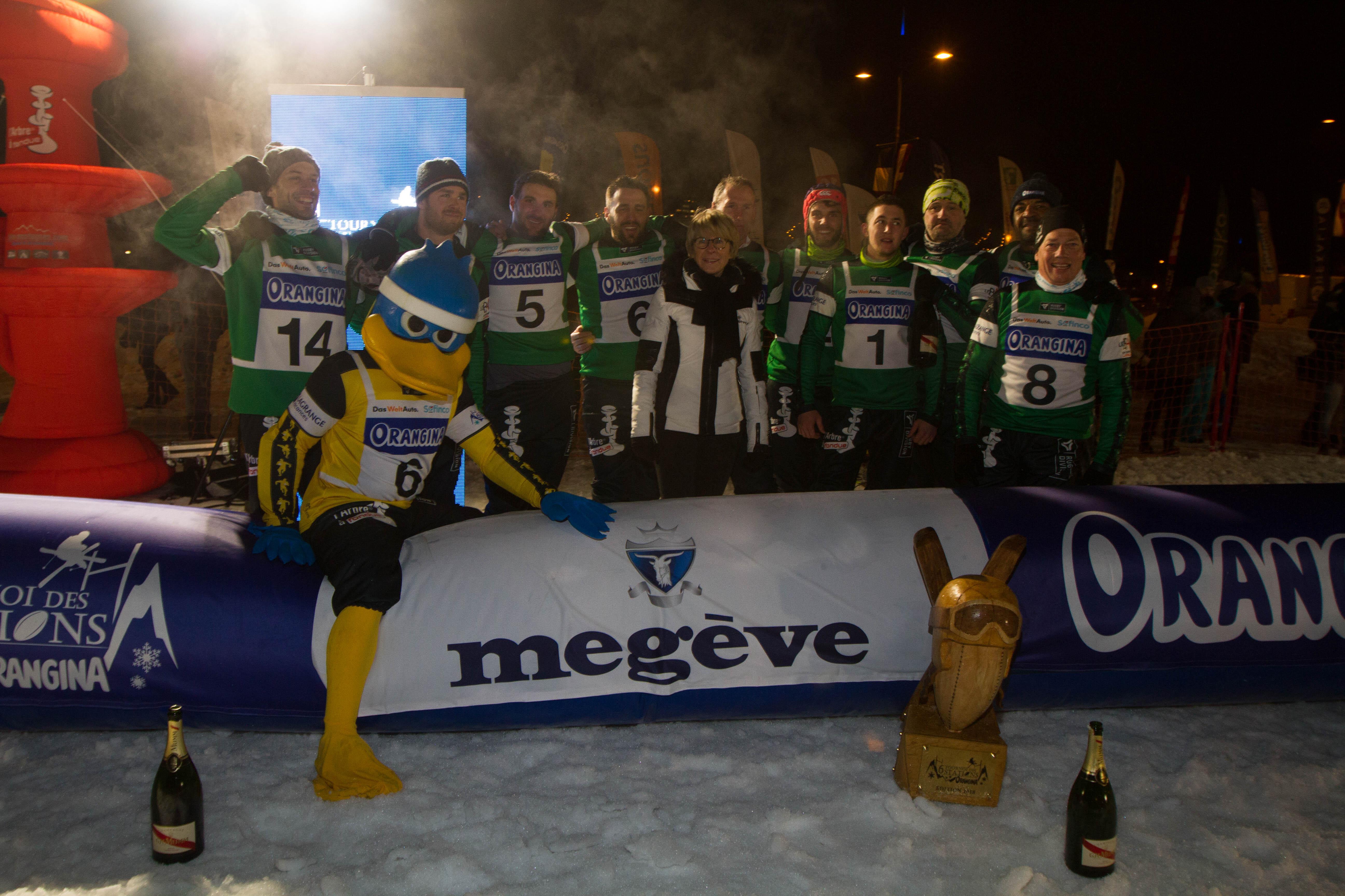 Equipe Megève Tournoi 6 Stations Hiver 2018